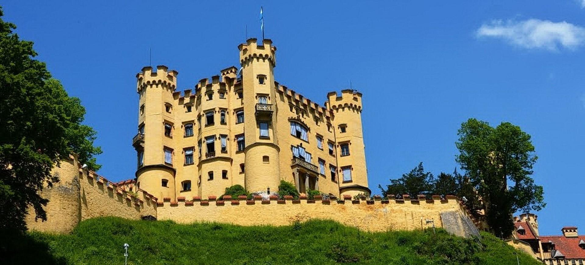 Allemagne Fussen Chateau Hohenschwangau