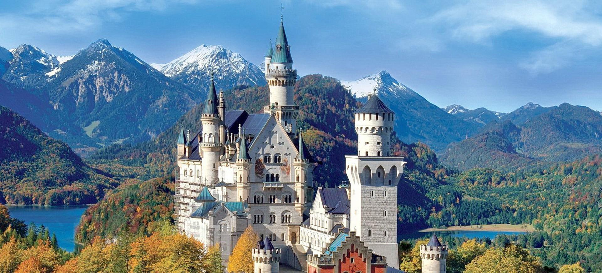 Château Neuschwanstein à Fussen en Allemagne