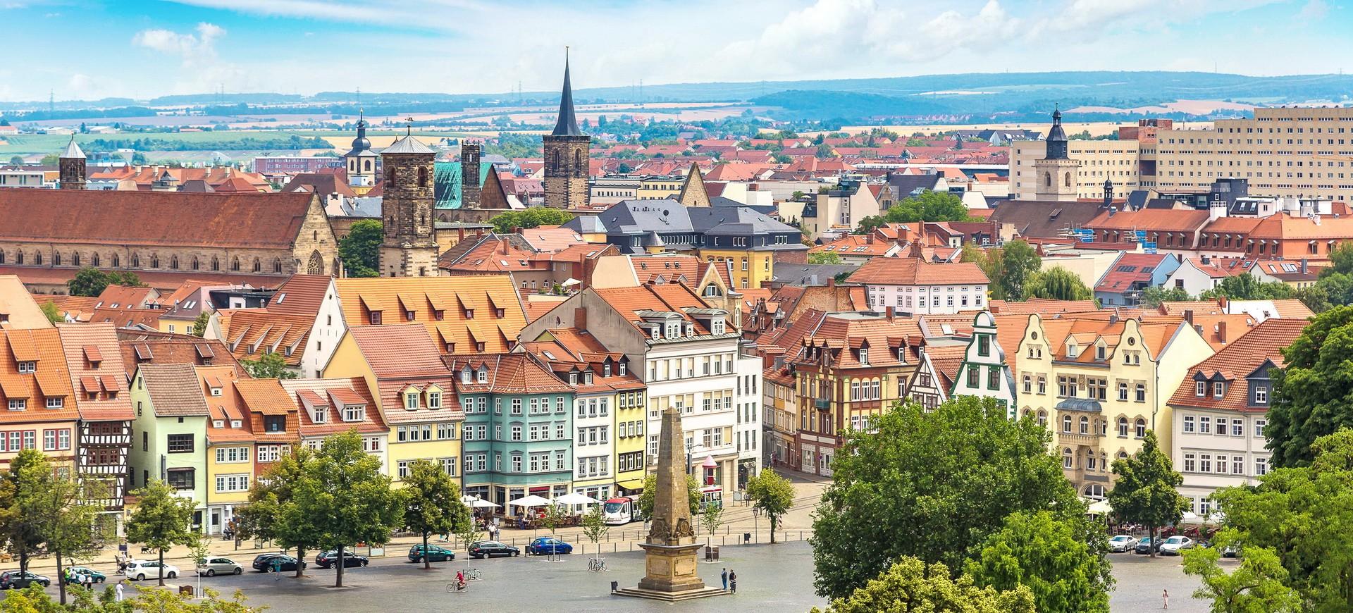 Erfurt en Allemagne