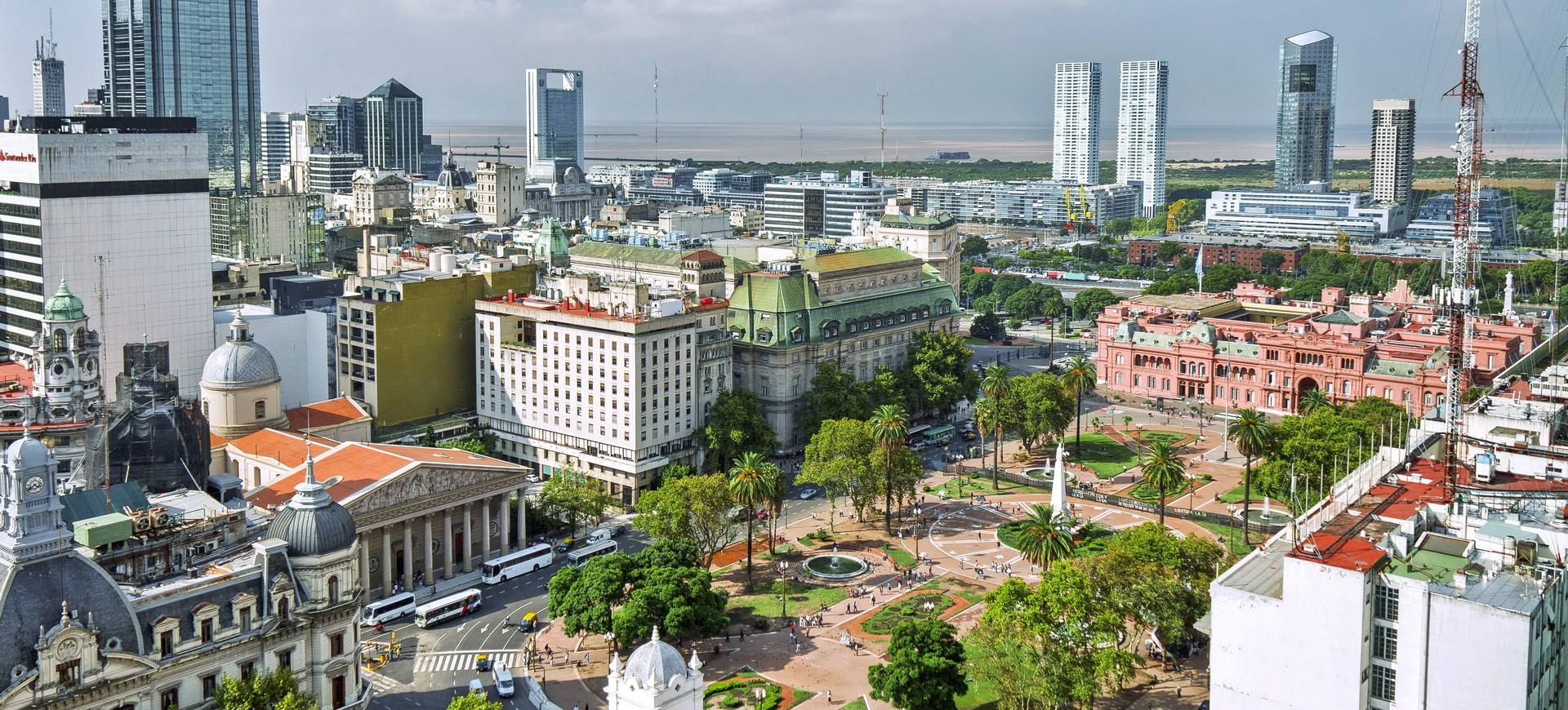 Plaza de Mayo à Buenos Aires
