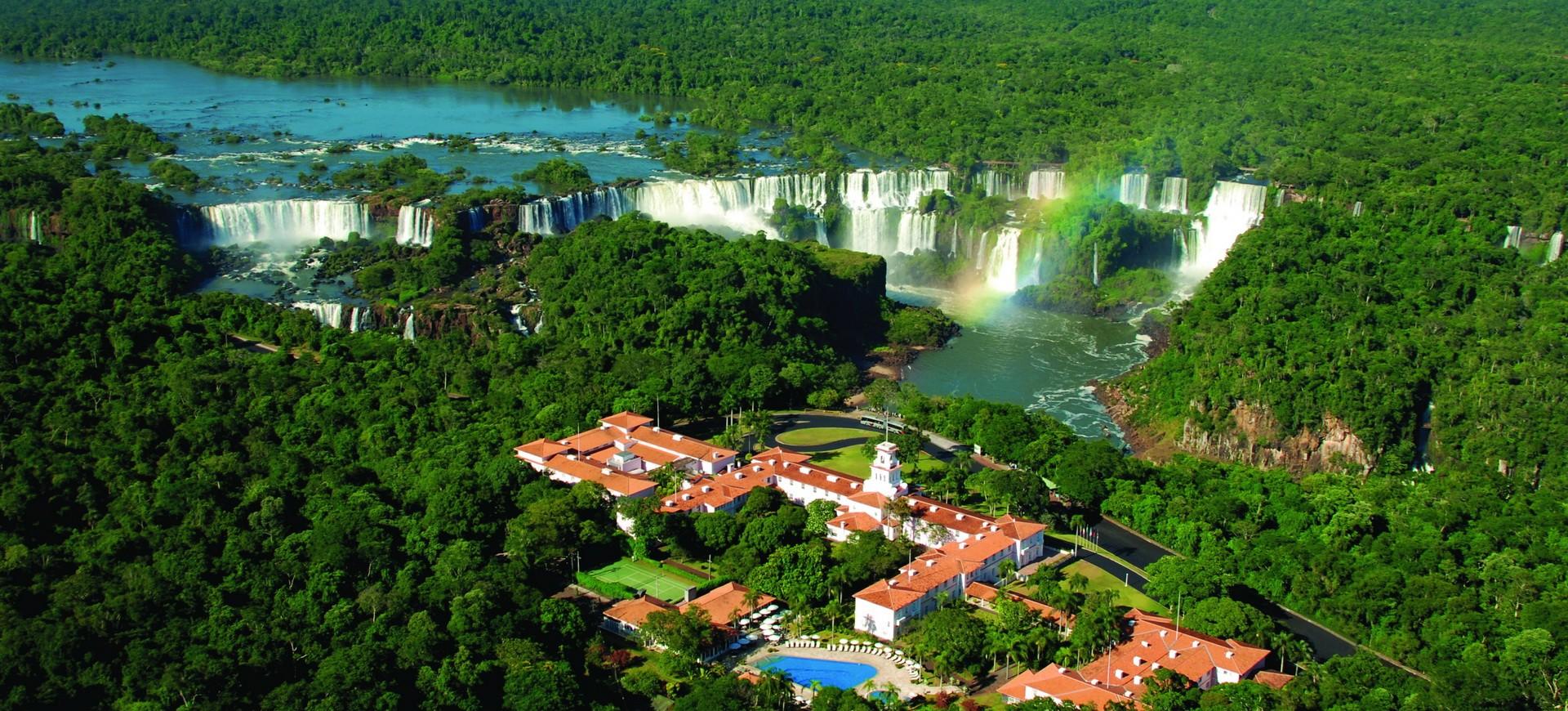 Chutes à Iguacu coté Brésilien
