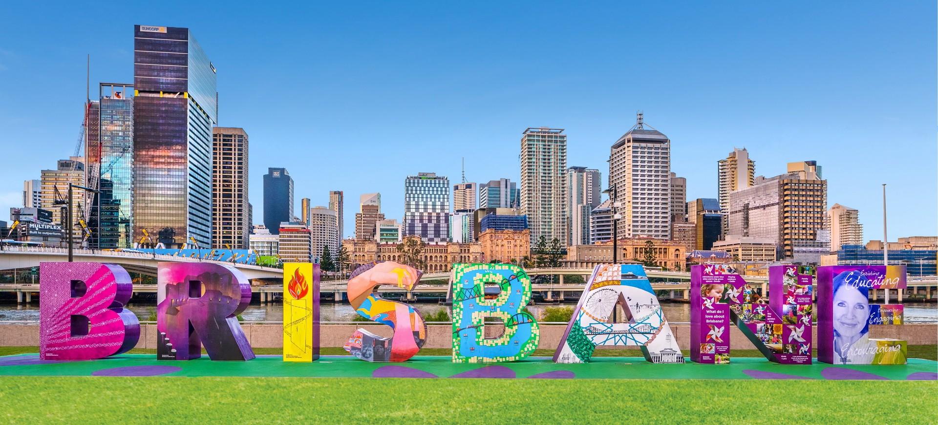 Skyline à Brisbane en Queensland