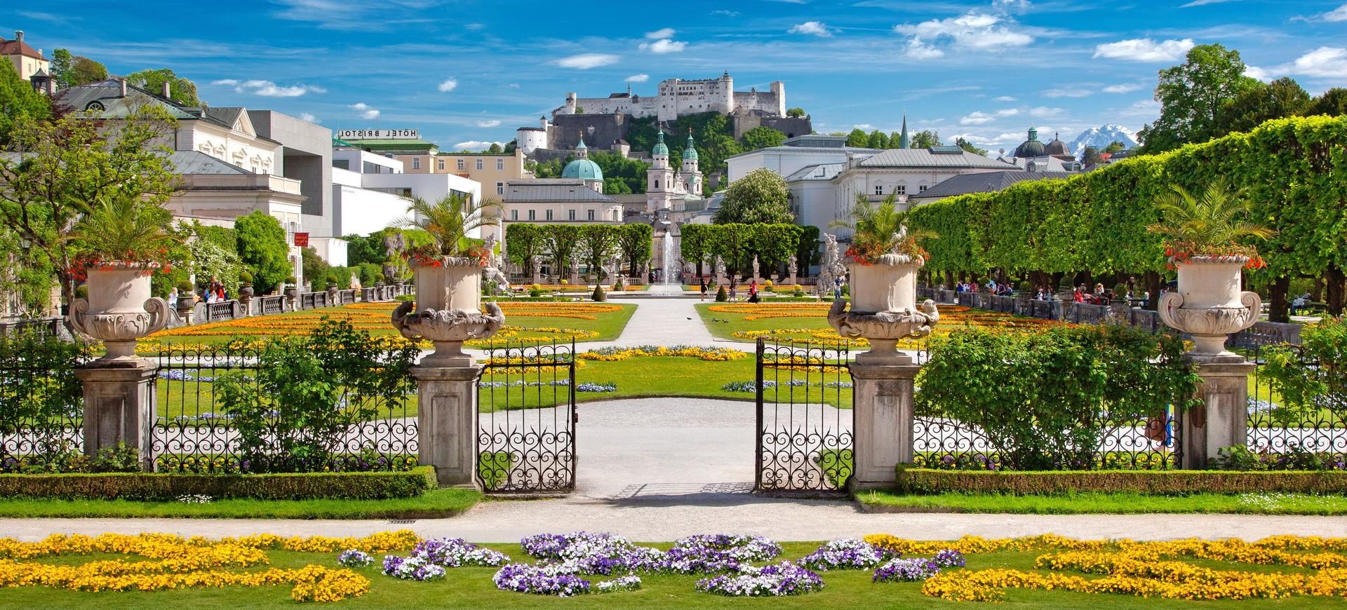 Autriche Sabzbourg Jardin de Mirabelle