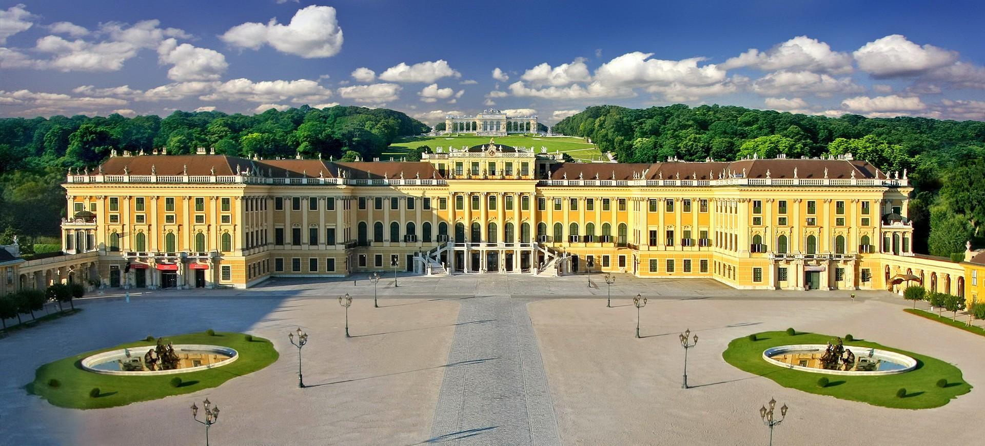 Chateau Schoenbrunn et Gloriette à Vienne