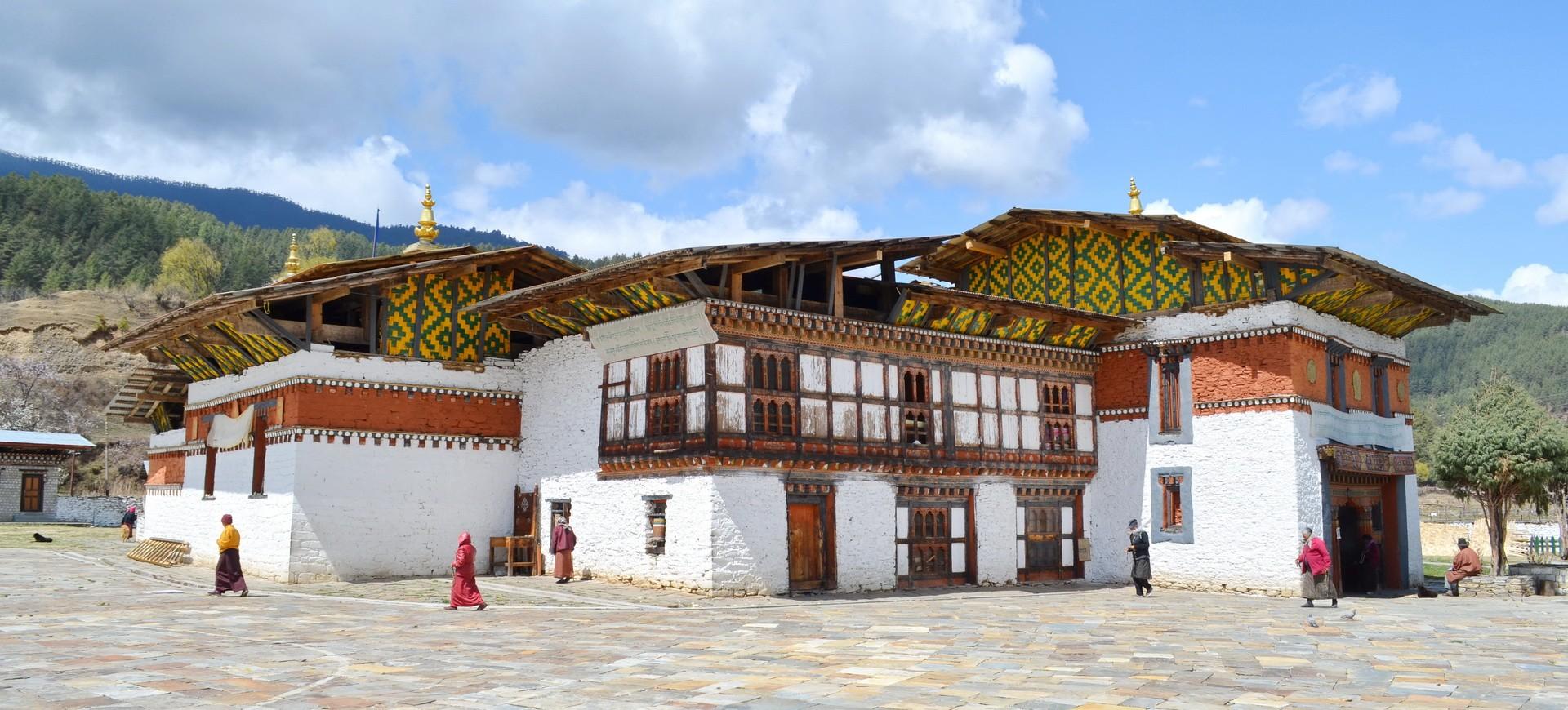 Bhoutan Bhumtang Vallée Jampey Lhakhang