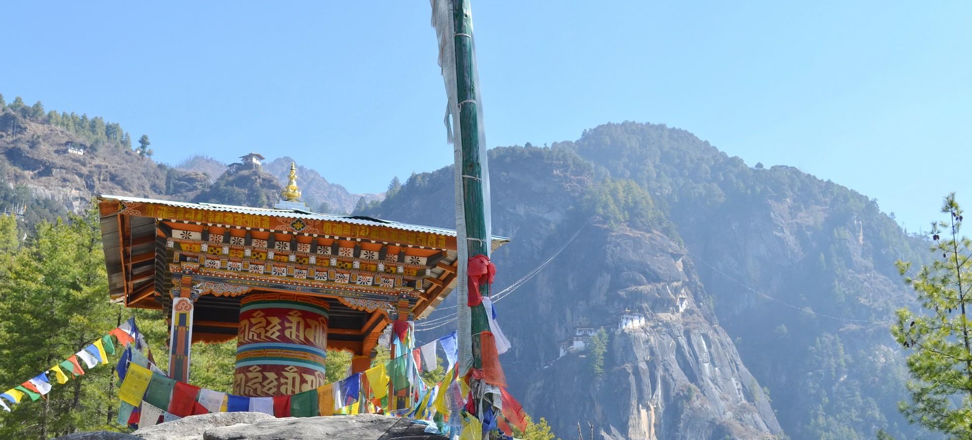 Bhoutan Paro Taksang (Tiger Nest)