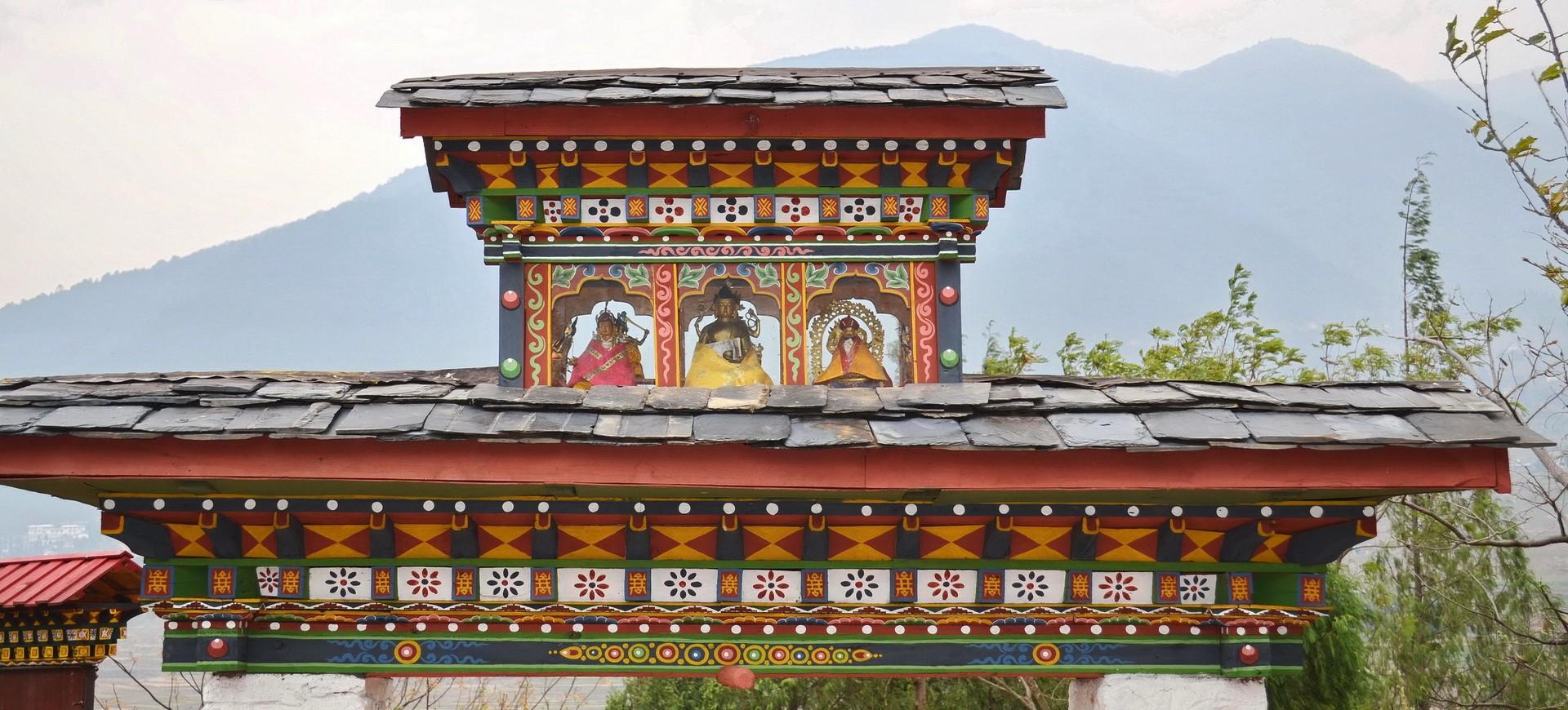 Bhoutan Punaka Chimi Village