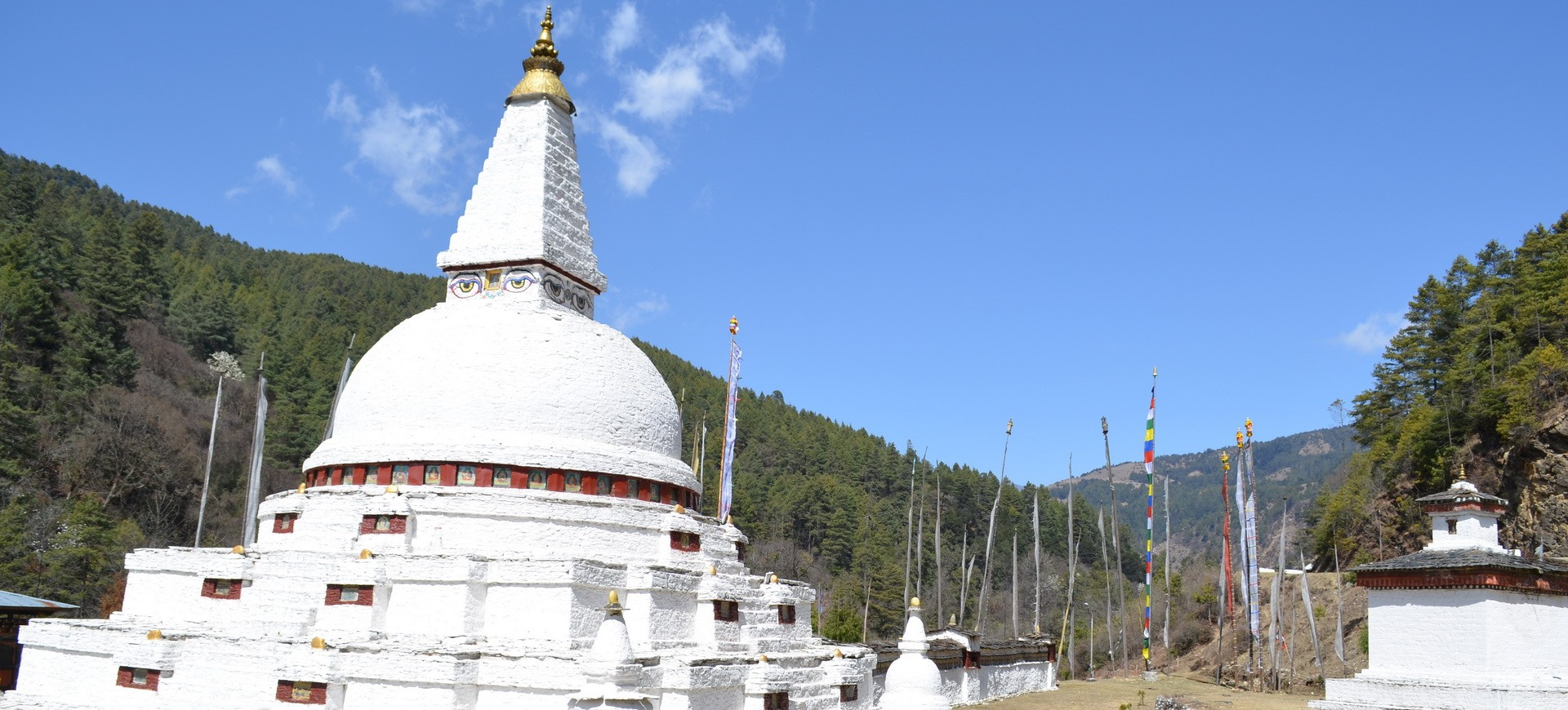 Bhoutan Route de Gangtey vers Trongsa