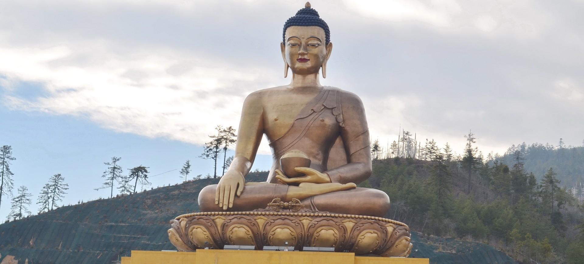 Boudha Géant à Thimpu