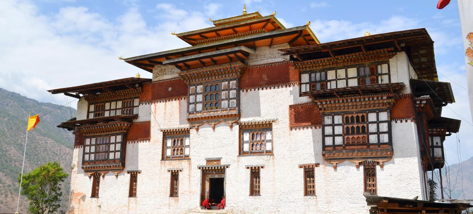Bhoutan Trashigang Dzong Monastère