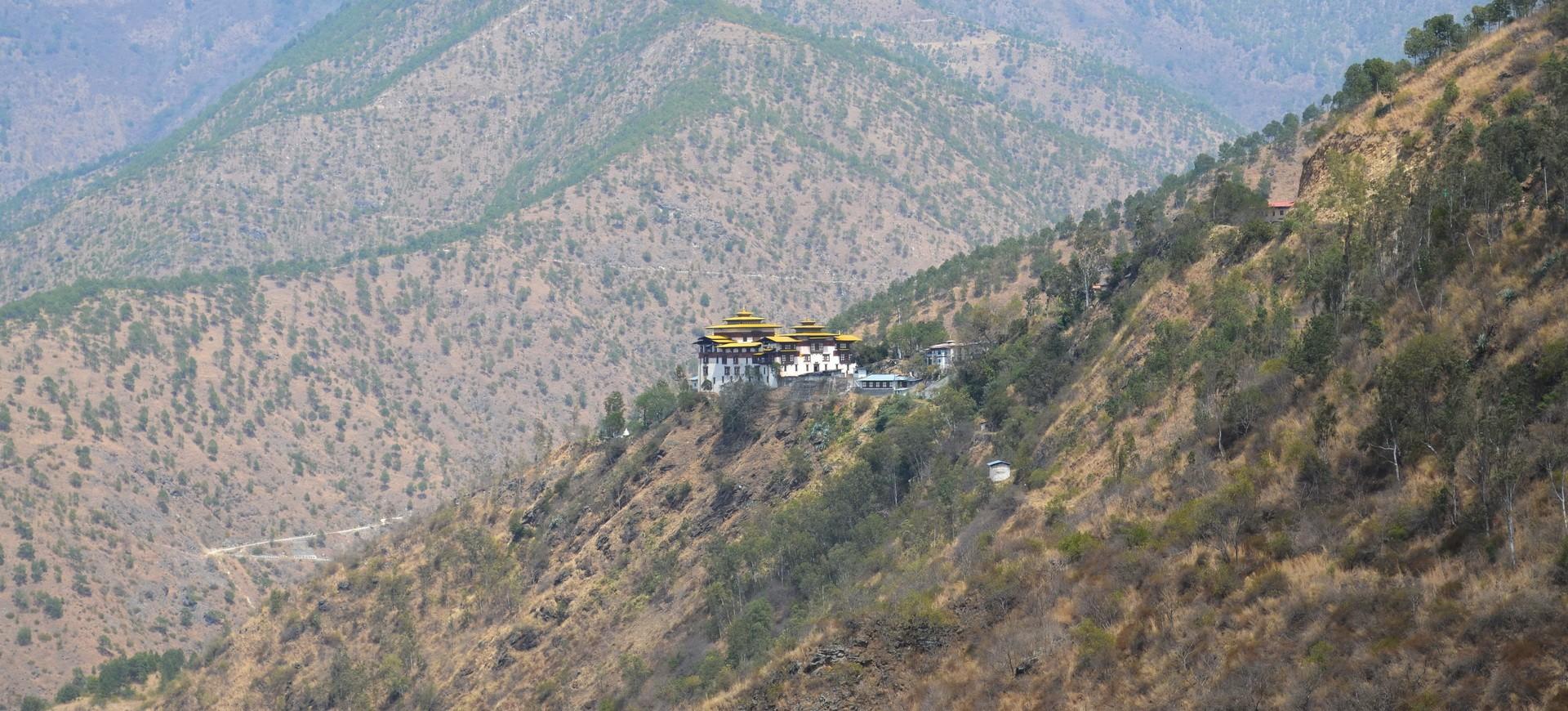 Dzong Monastère à Trashigang