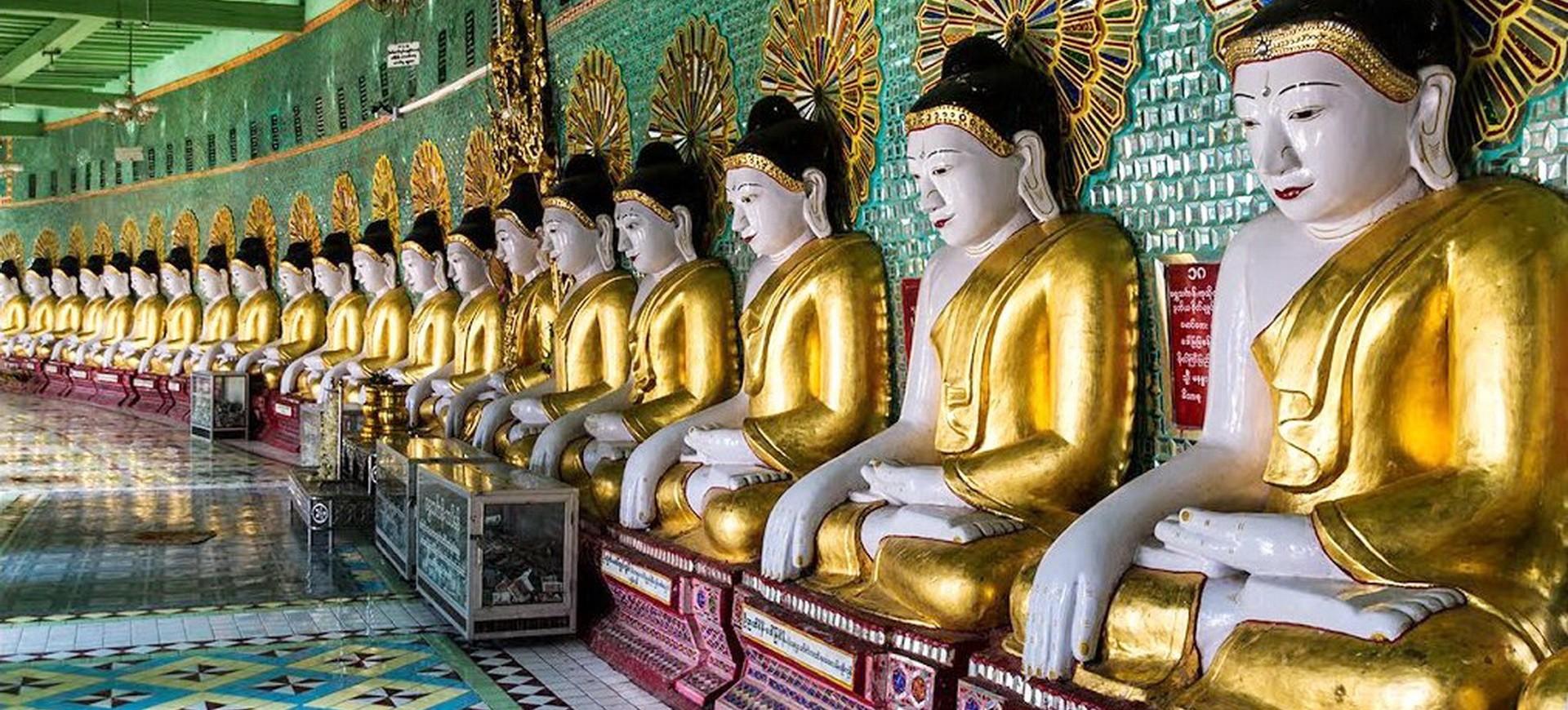 Birmanie Monywa Pagode Thanboddhe