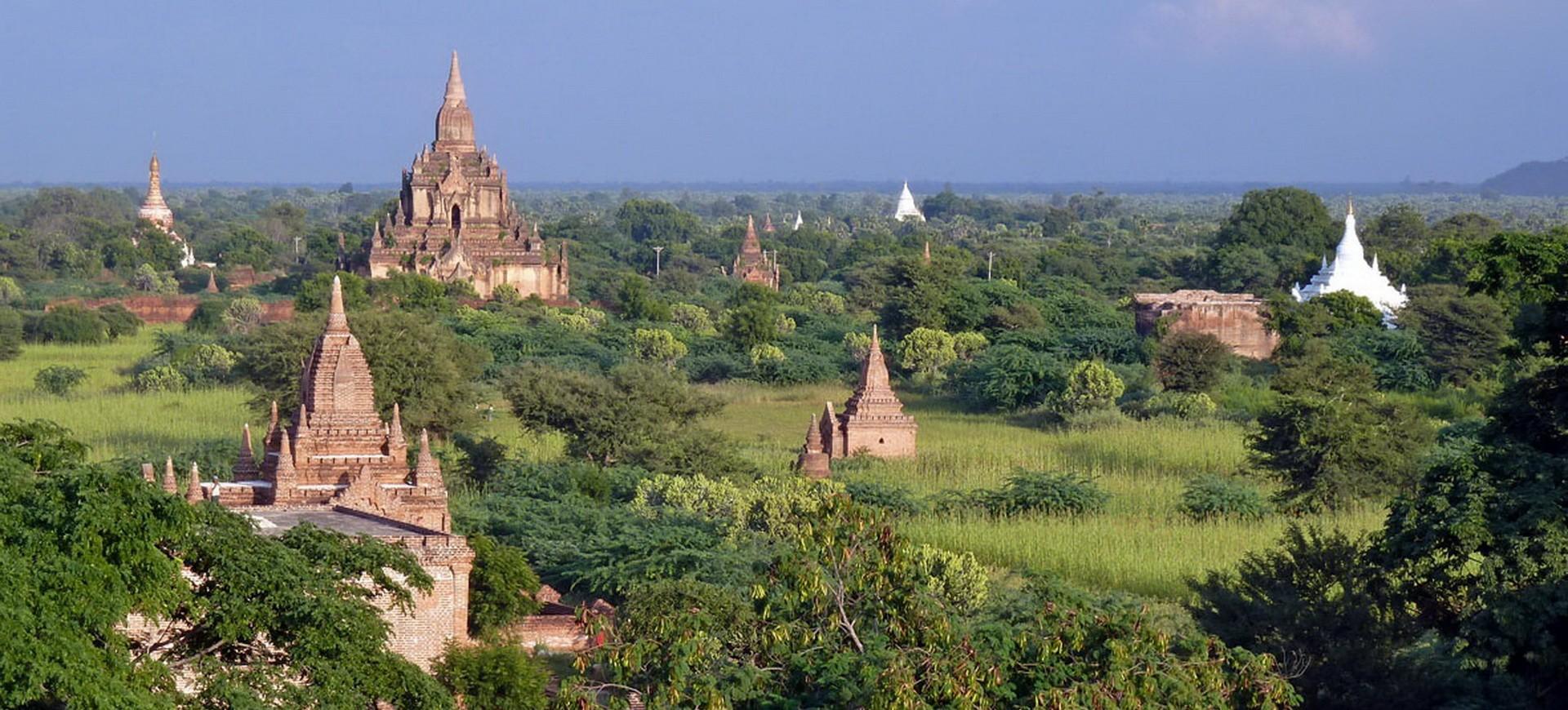 Birmanie Pagan Pagodes