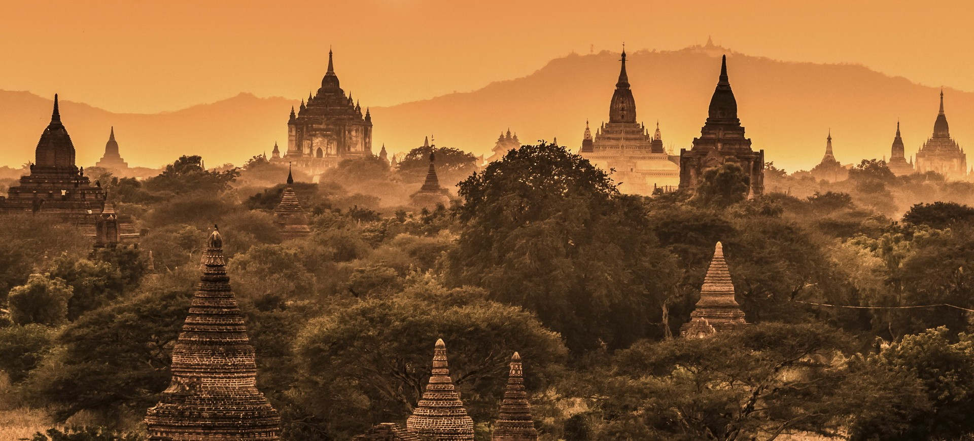 Birmanie Pagan Pagodes Bouddhistes