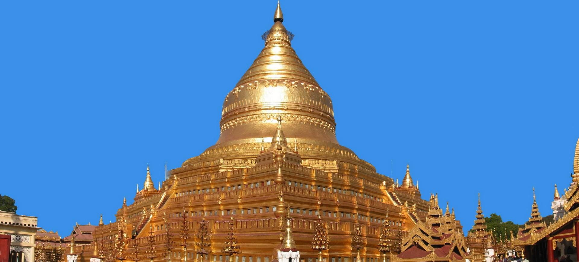 Birmanie Rangoon Temple d'Or 016