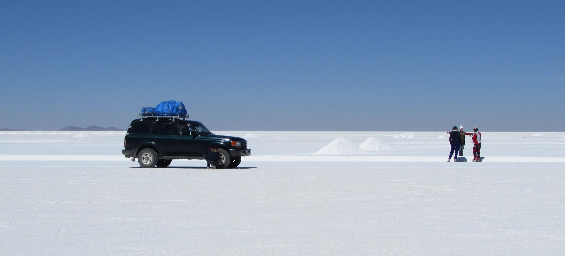 Salar Désert de Sel en Bolivie