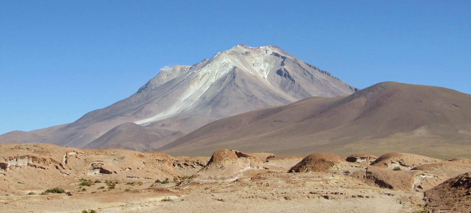 Bolivie Volcan Tomasamil