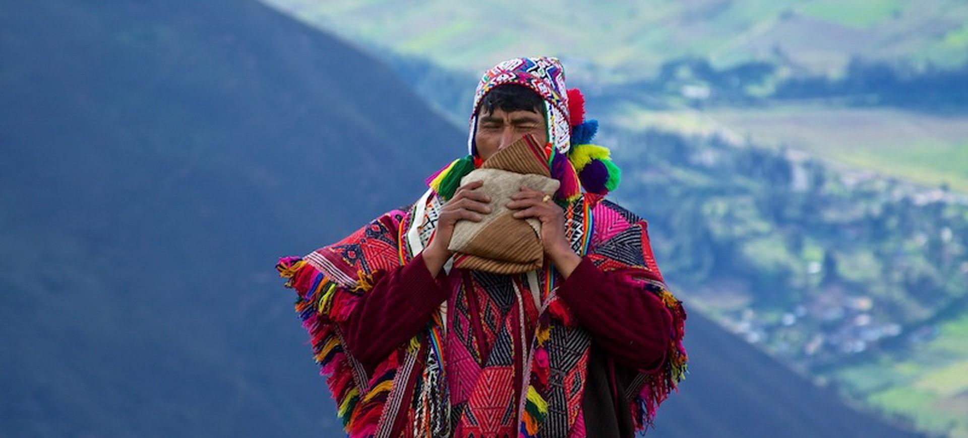 Bolivie un artisan local