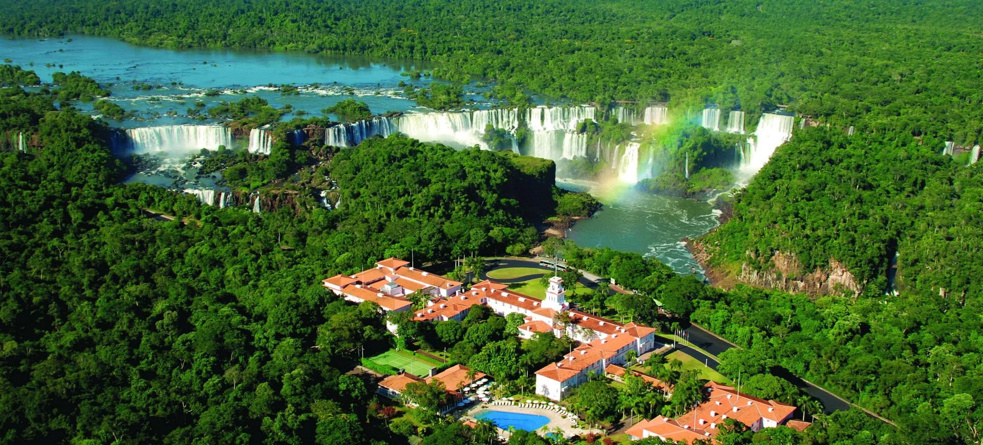 Argentine Iguacu Chutes coté Brésilien