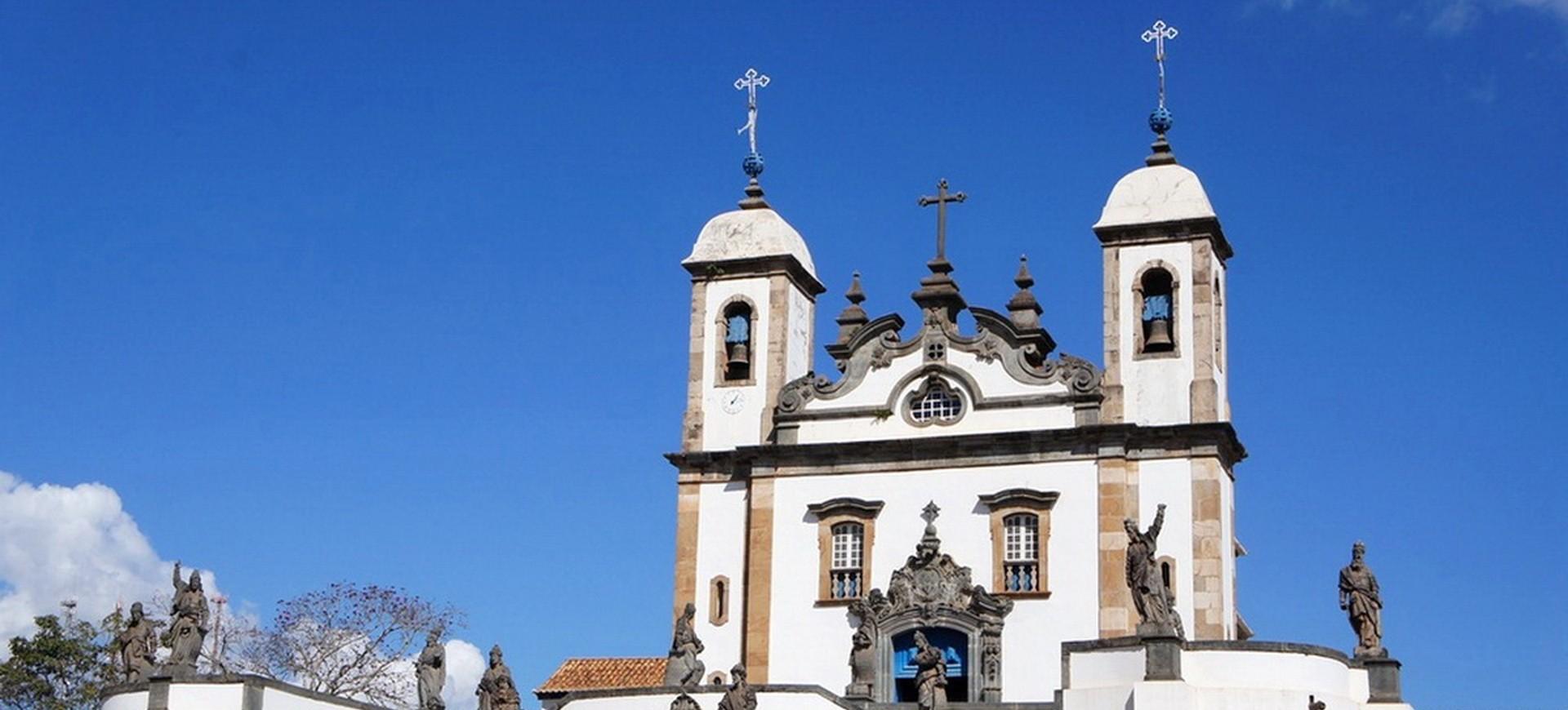 Brésil Congonhas de Compos Eglise