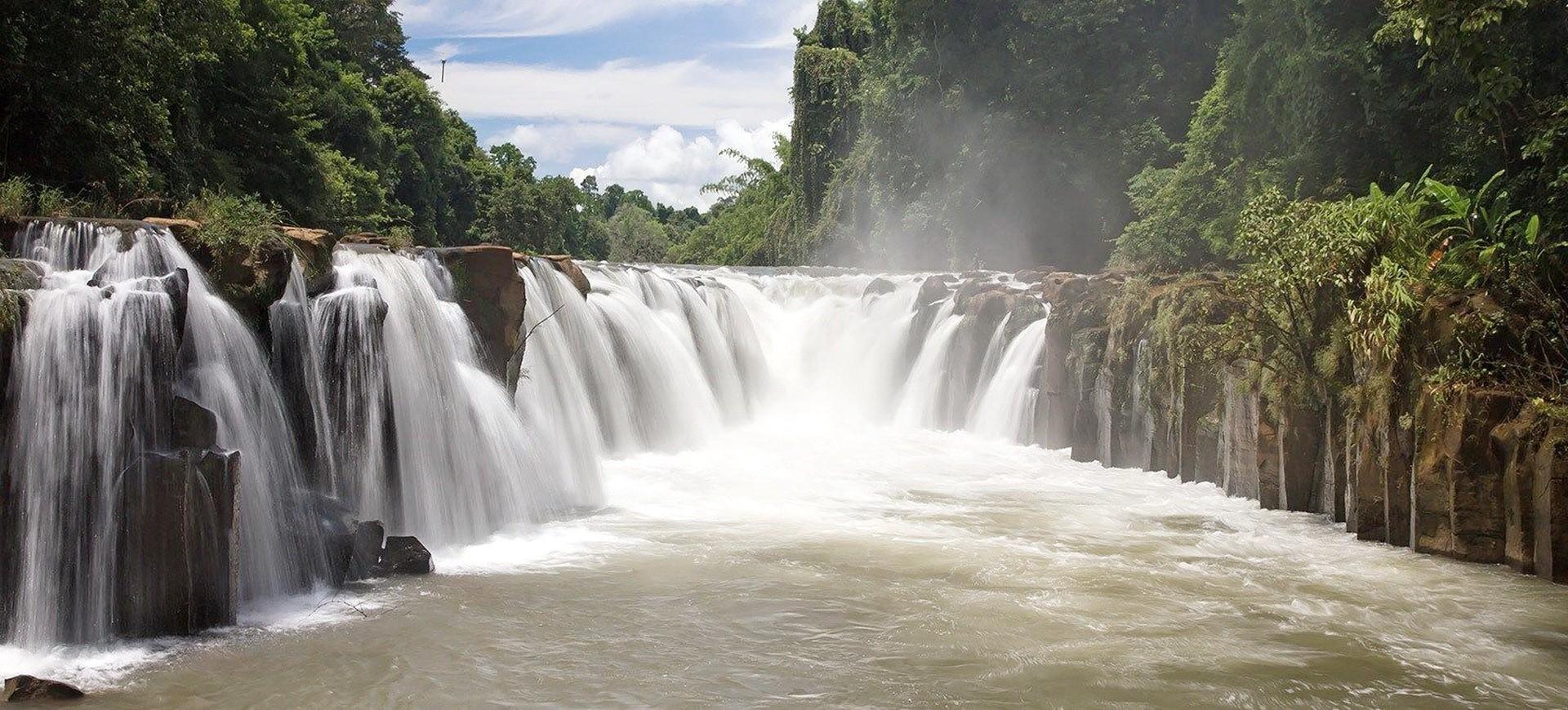 Cambodge Champasak Chutes Pha Suam