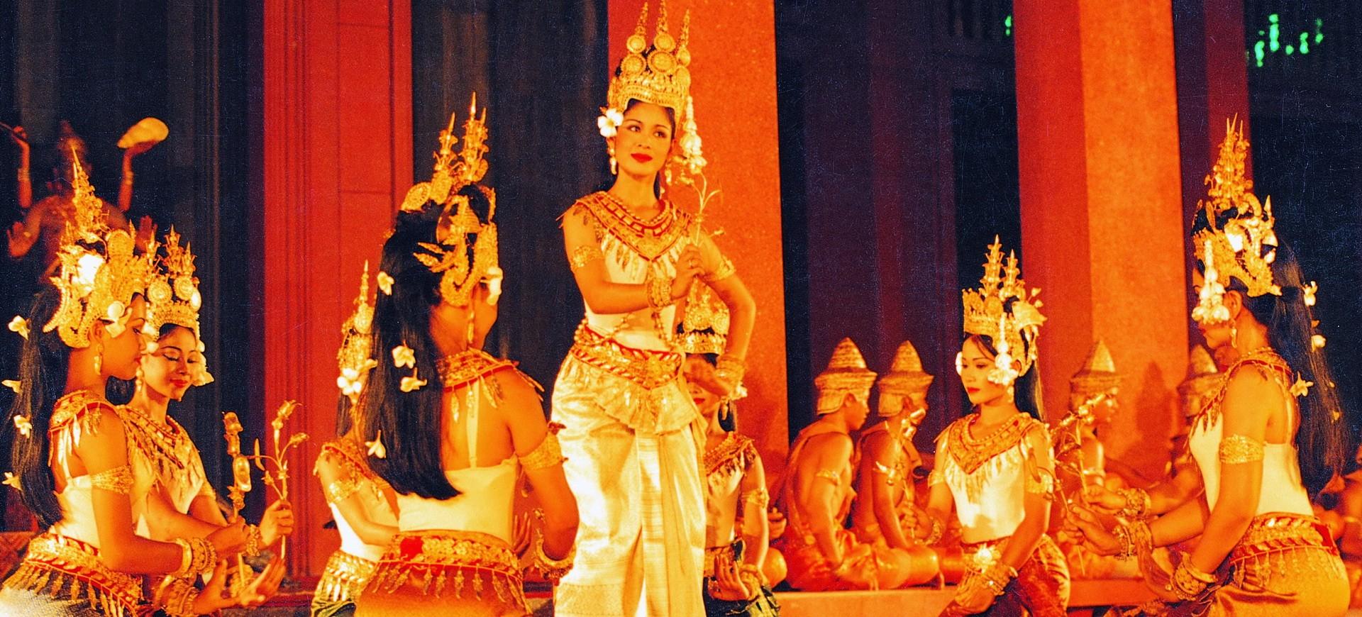 Cambodge spectacle de danse