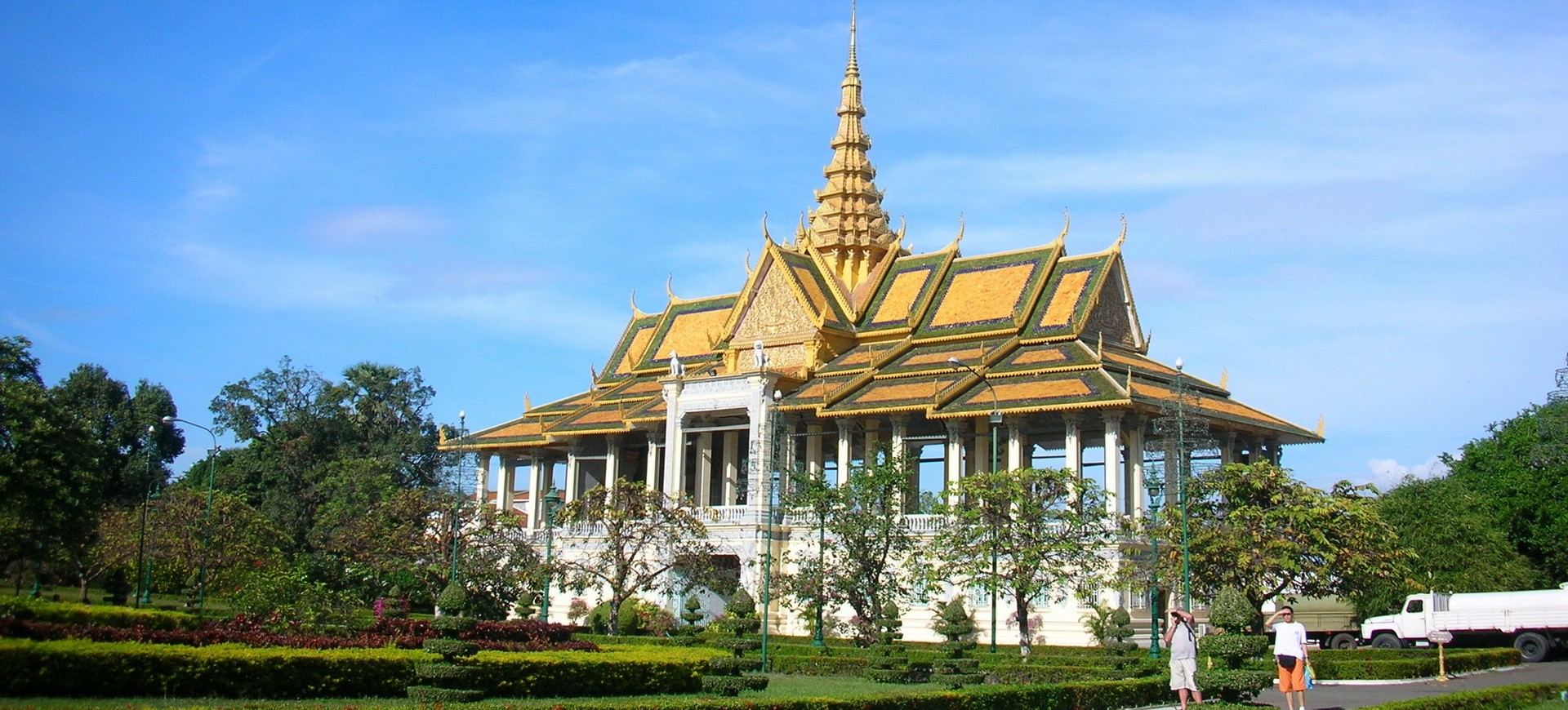 Cambodge Phnompenh Palais Royal