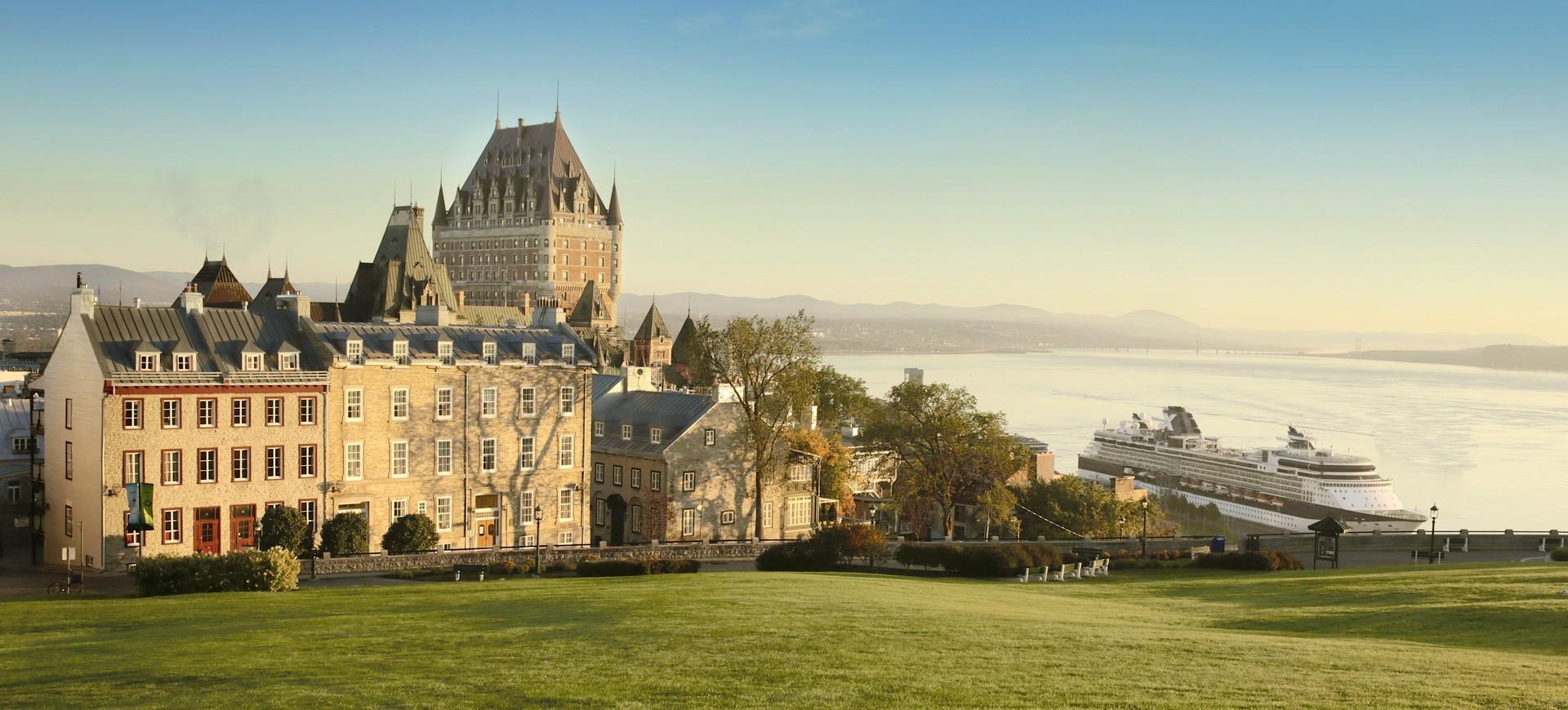 Canada Québbec Panorama du Vieux Québec