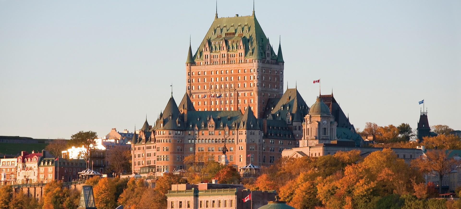 Canada Québec Château Frontenac