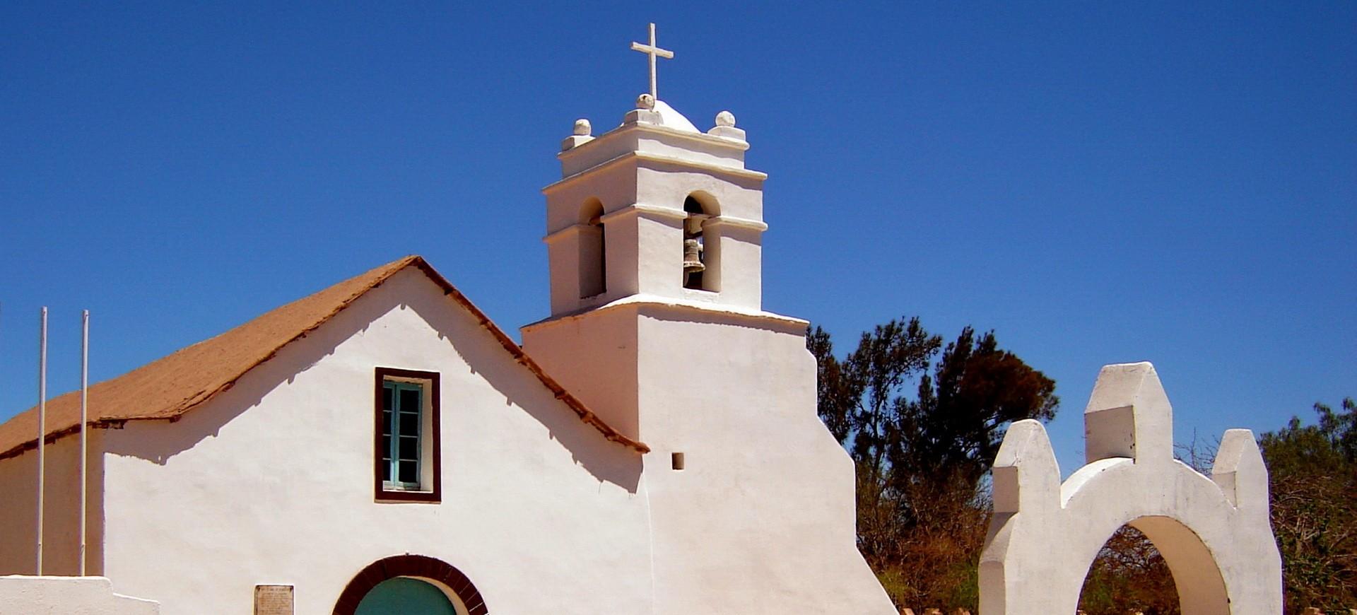 Chili Désert Atacama Eglise à San Pedro