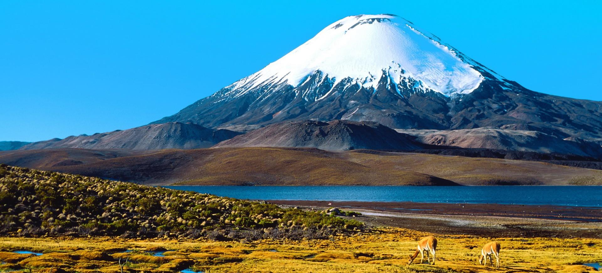 Chili Villarrica Volcan