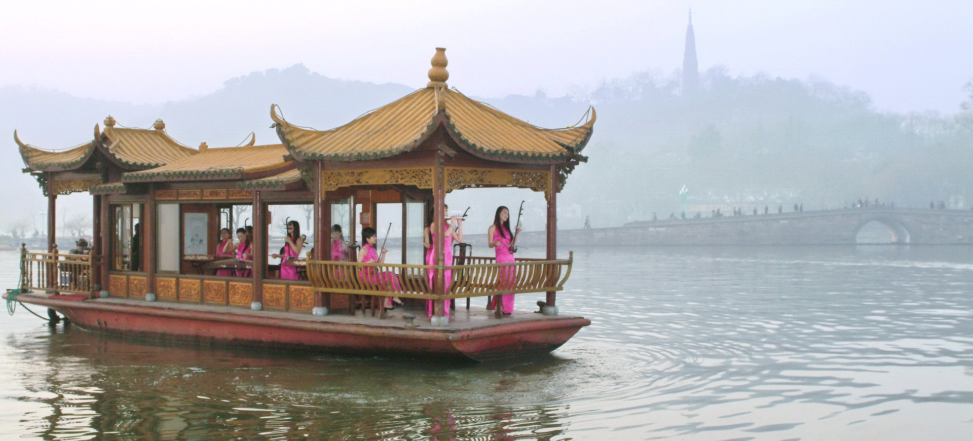 Lac du Palais d'Eté à Pékin en Chine