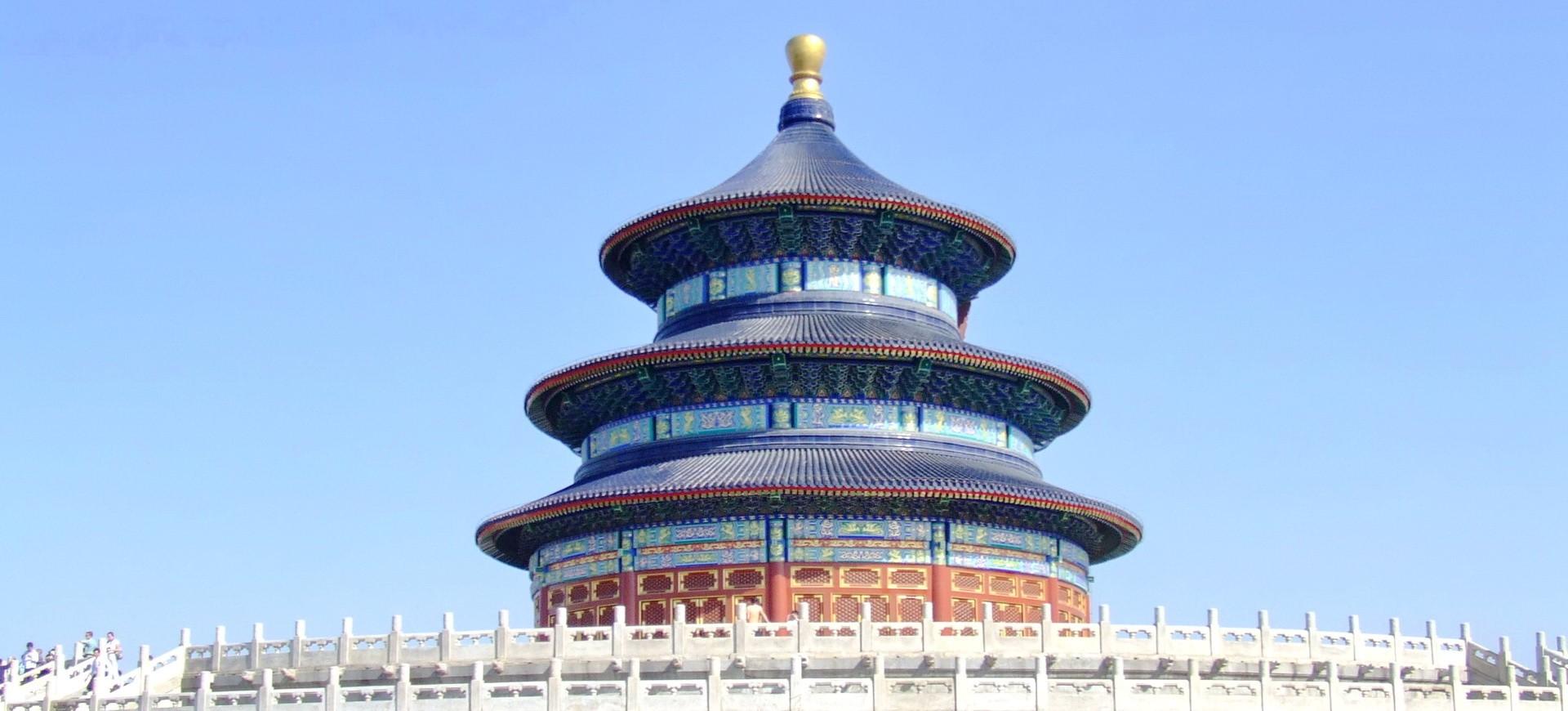 Temple du Ciel à Beijing en Chine
