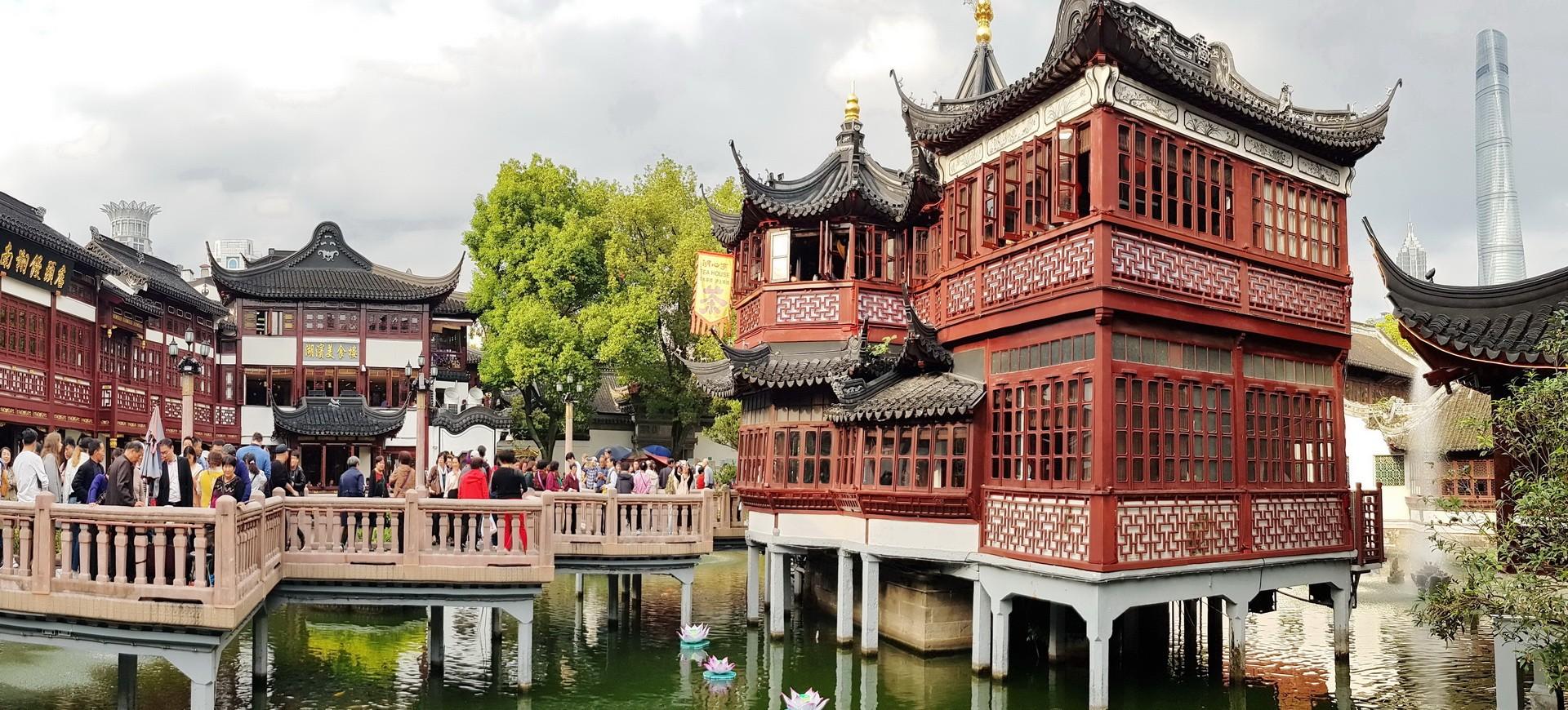 Chine Shanghai Jardin Mandarin Yu