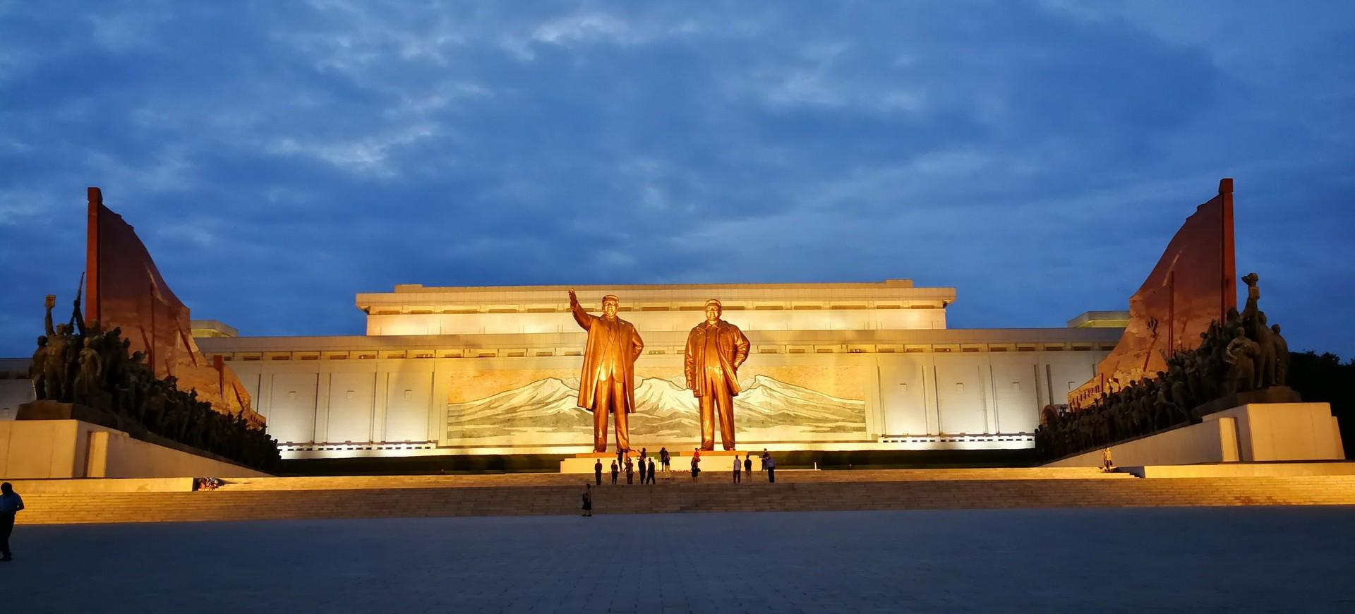 Pyongyang Monument en en Corée du Nord