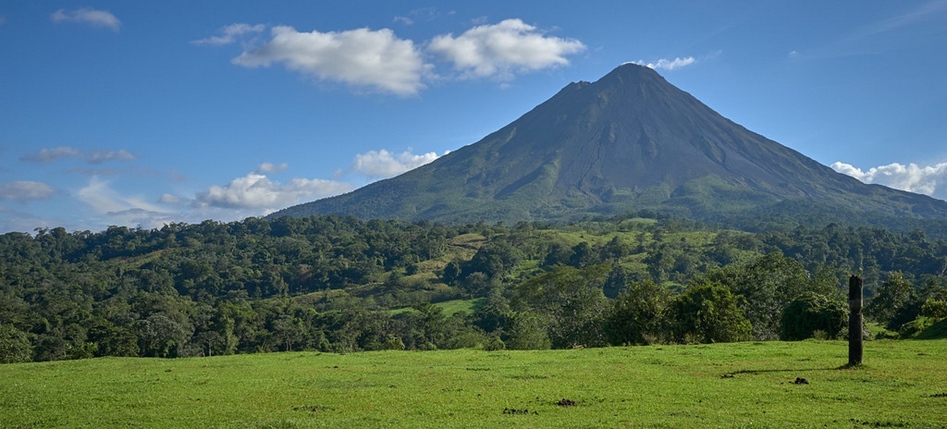 Volcan Arenal Volcan au Costa Rica