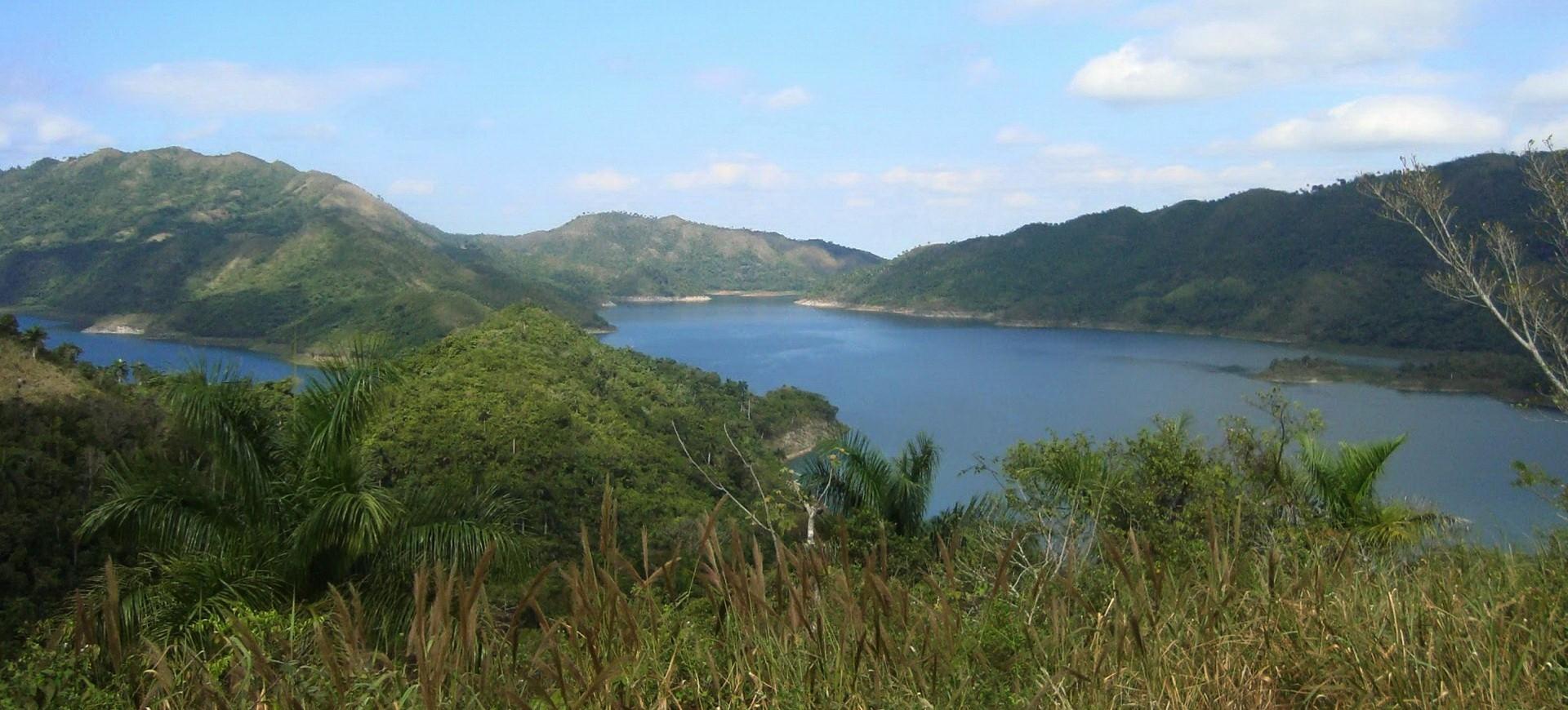 Cuba Hanabanilla lac