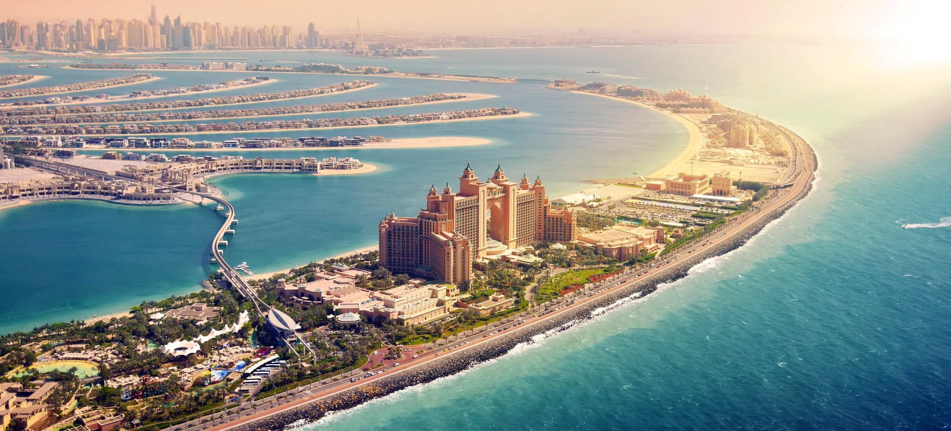 Ile de Palme à Dubai