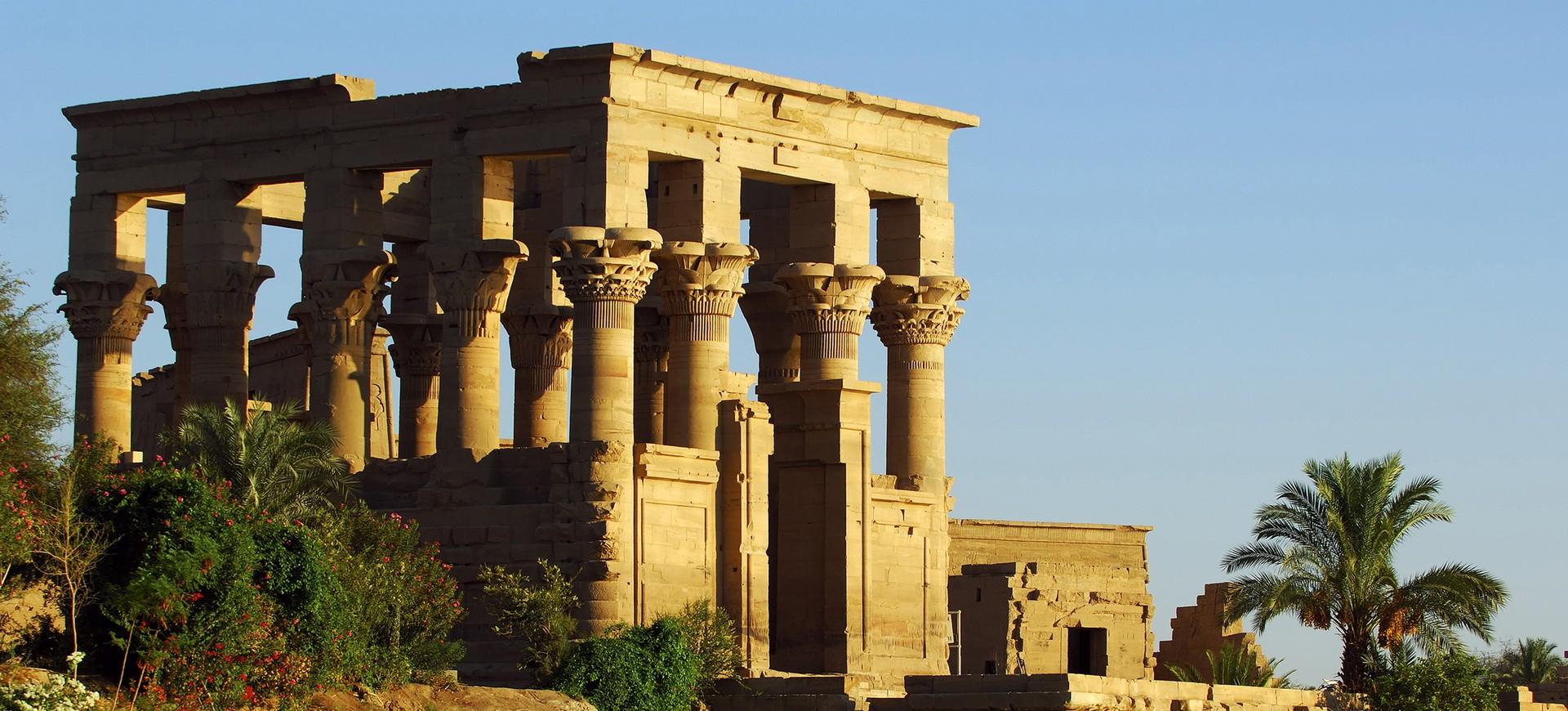 Temple de Isis à Philae en Egypte