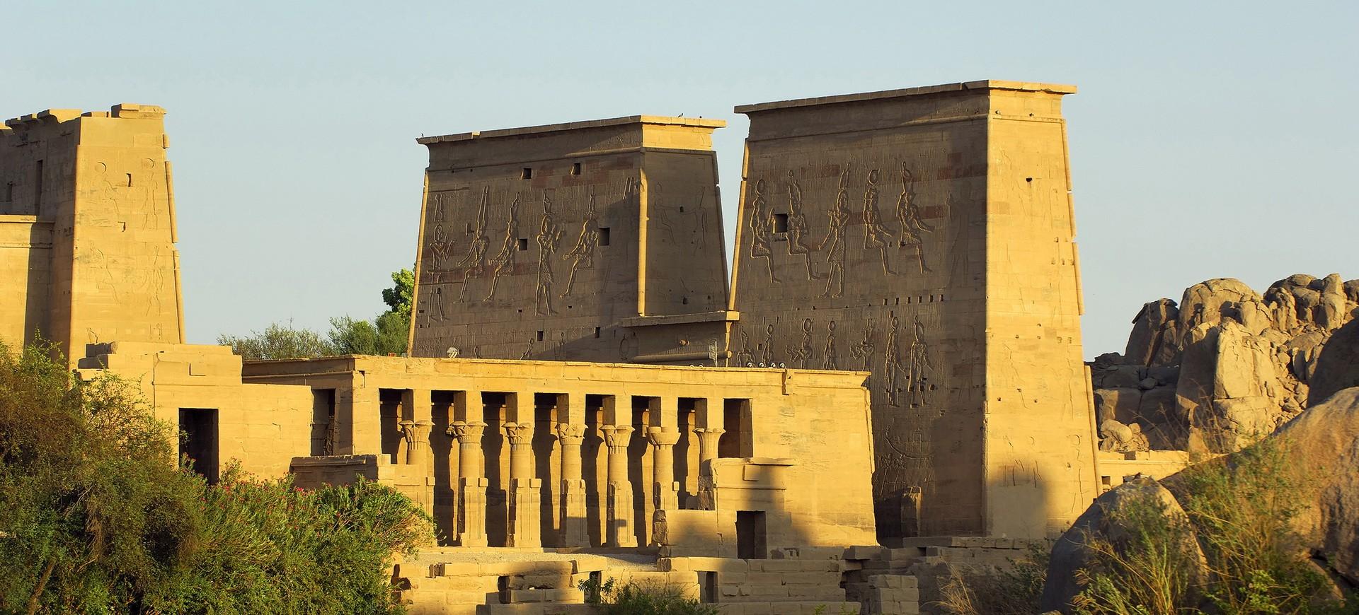 Temple Isis à Philae