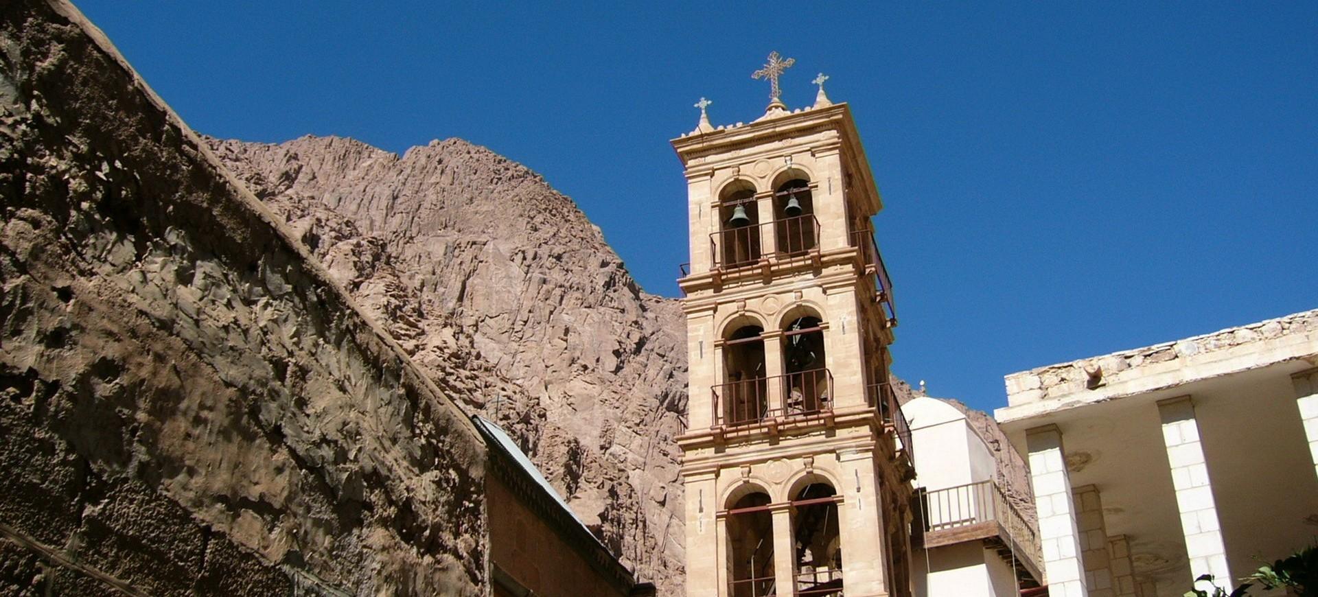 Monastère Sainte Catherine dans le Sinai en Egypte