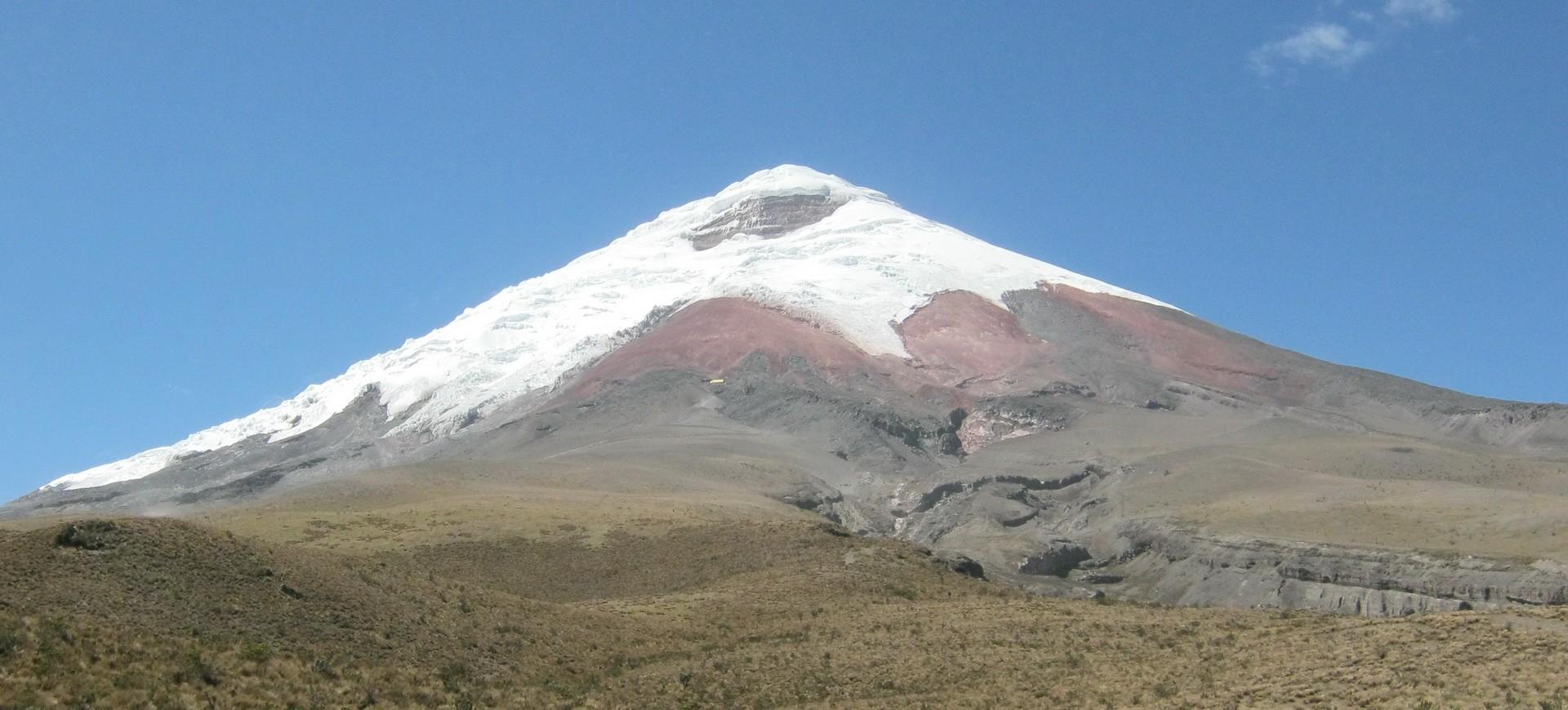 Le volcan Cotopaxi en Equateur