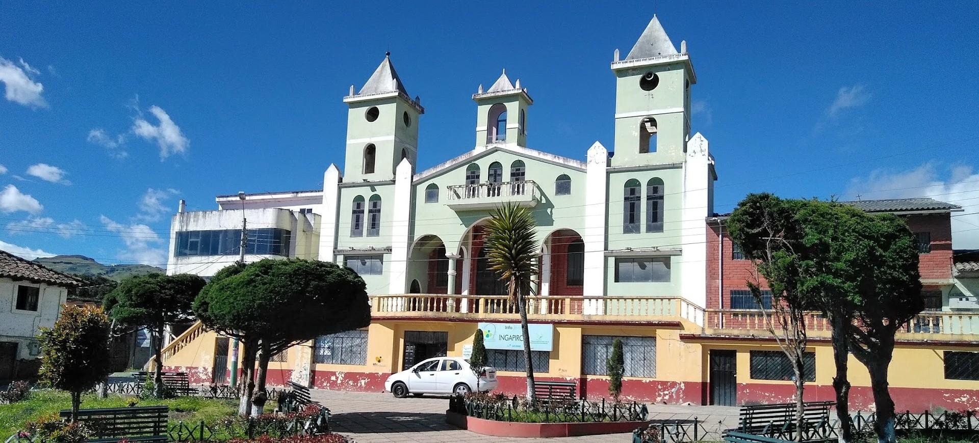 Une église à Ingaprica en Equateur
