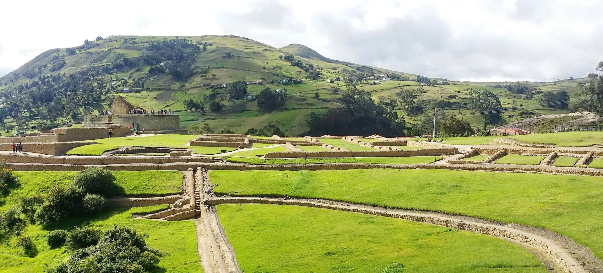 Site archéologique et Forteresse précolombienne à Ingaprica en Equateur