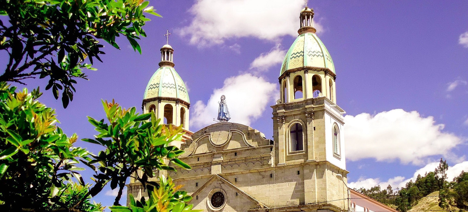 Equateur Riobamba Yaruquies Eglise
