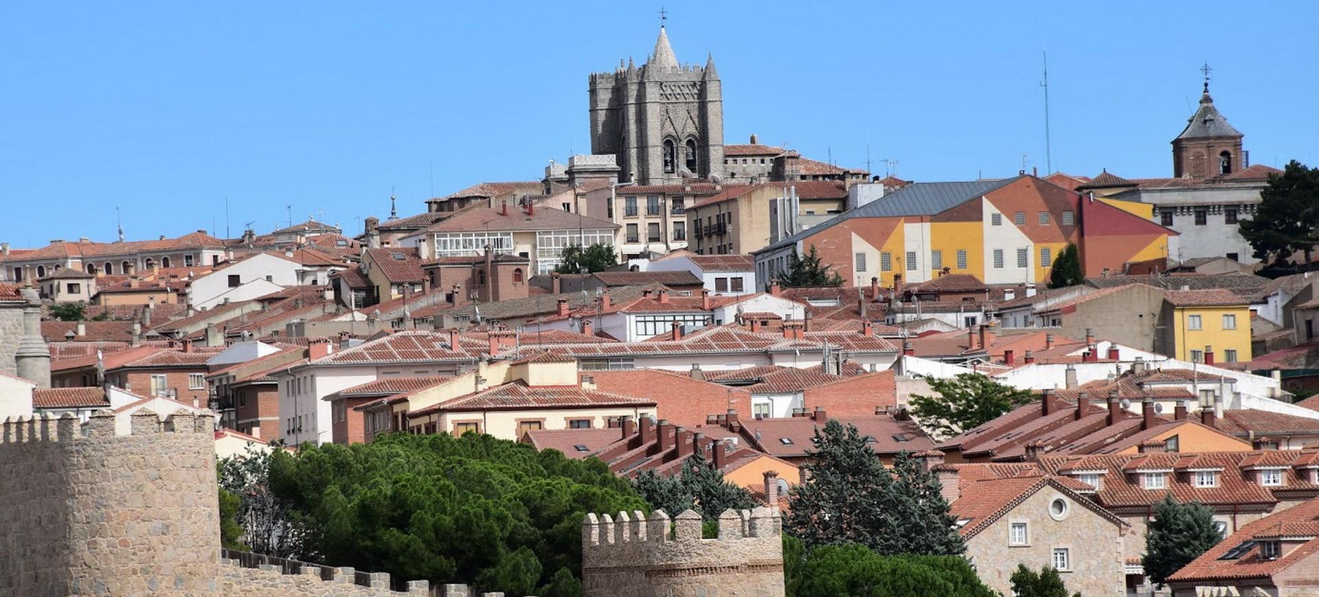 Espagne Avila vieille ville