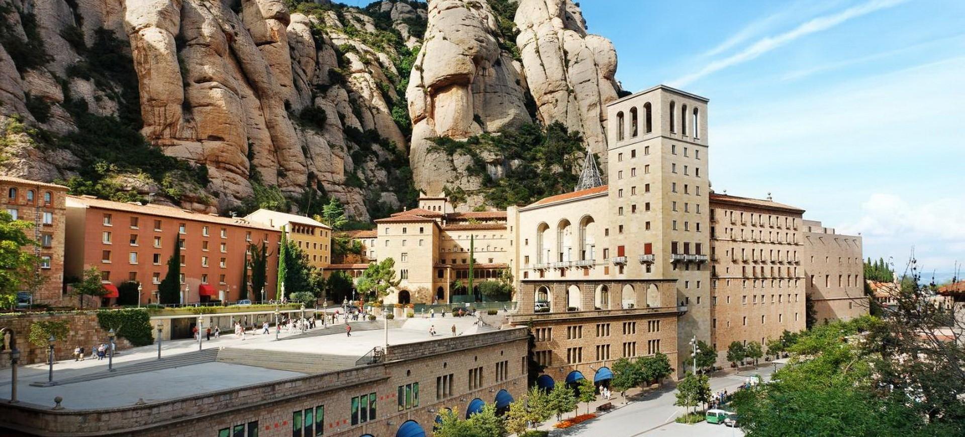 Espagne Barcelone Monastère de Montserrat