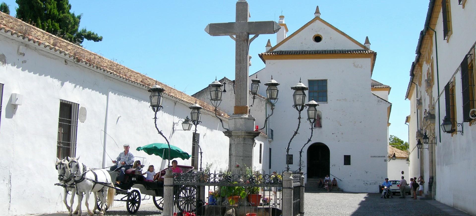 Une église à Cordou Espagne
