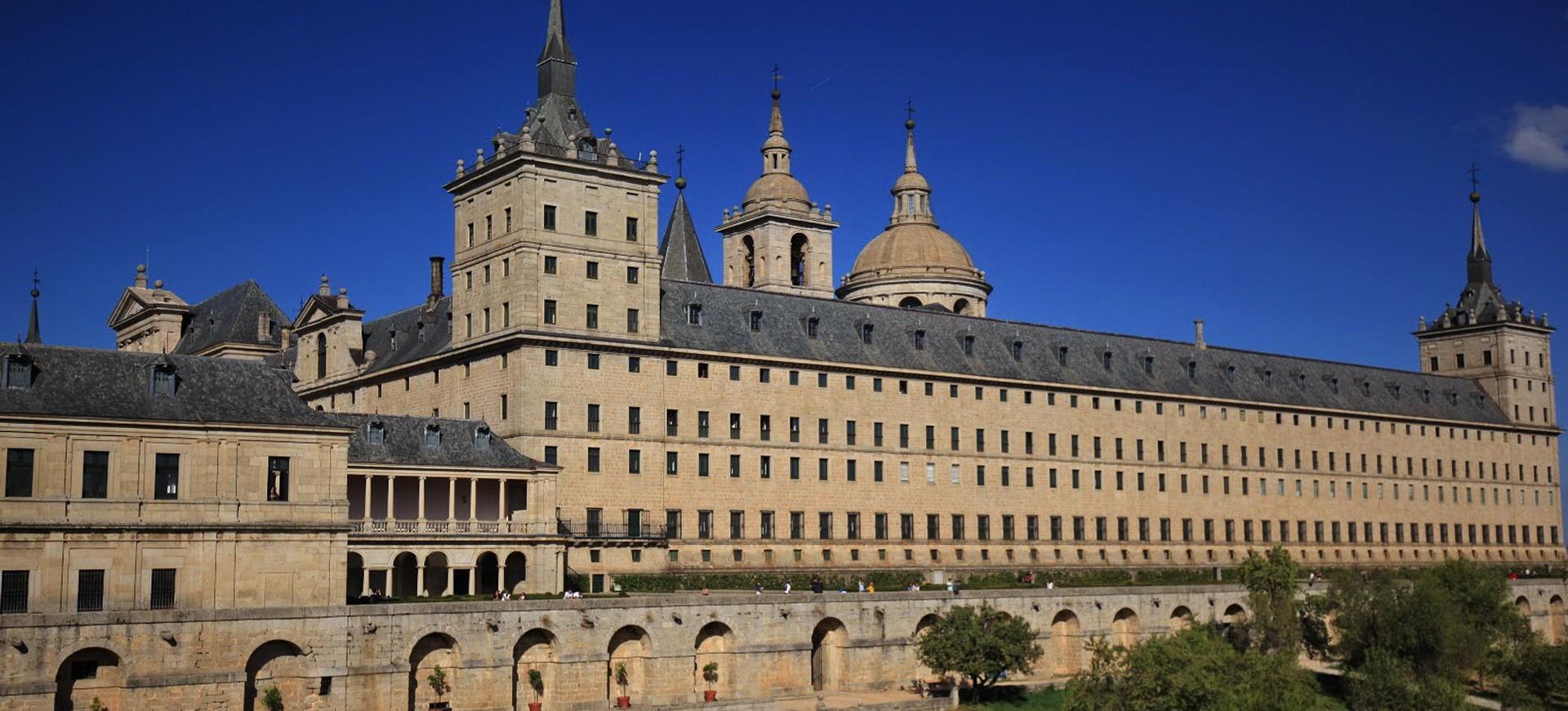 Espagne Madrid, Escorial Monastère San Lorenzo