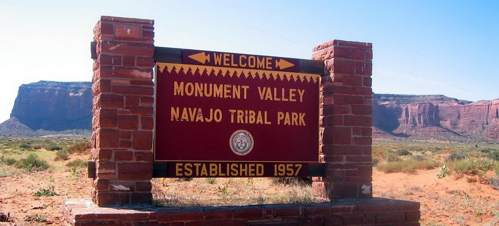 Monument Valley dans l'Arizona aux Etats Unis